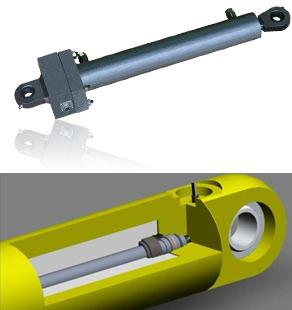 "Position-Sensing or ""Smart"" Hydraulic Cylinder"